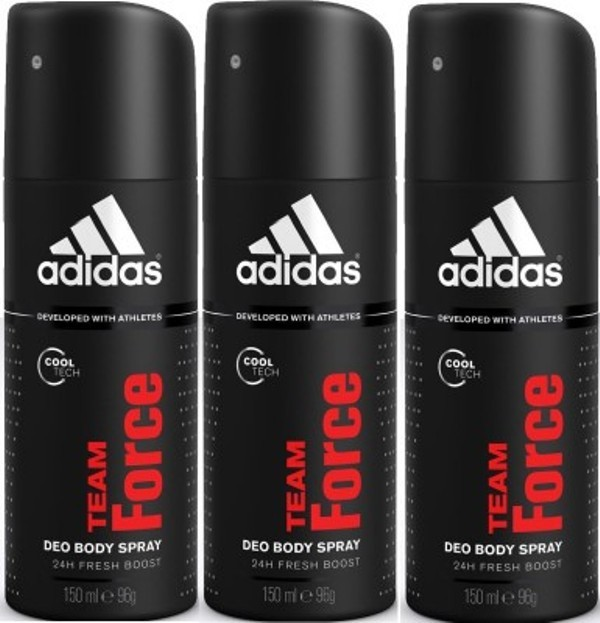 Adidas team force Deodorant Spray  -  For Men(450 ml)