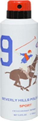 Beverly Hills Polo Club Sport 9 Deodorant Spray  -  For Men