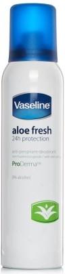 Vaseline Aloe Fresh 24h Protection Anti-Perspirant Deodorant Spray  -  For Boys, Girls