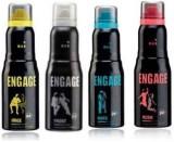 Engage Combo Set Deodorant Spray  -  For...
