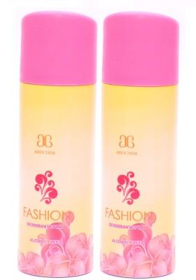 Arochem 2 x Fashion Deodorant Spray  -  For Men, Women