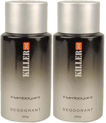 Killer Flamboyant Body Spray  -  For Men