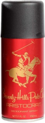 Beverly Hills Polo Club Aristocrat Deodorant Spray  -  For Men