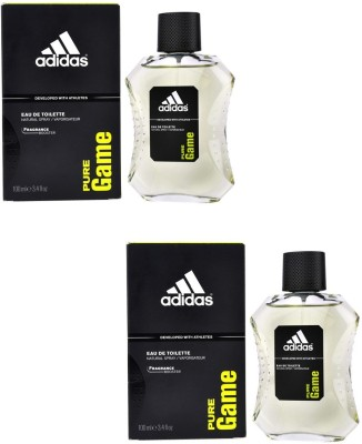 Adidas Pure Game EDT Combo's Body Spray  -  For Boys, Men