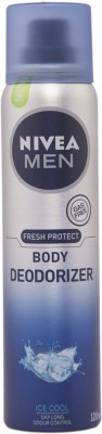 Nivea Nivea Fresh Protect Body Deodorizer Ice Cool Body Spray  -  For Men