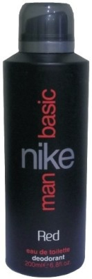 Nike Basic Red Deodorant Spray  -  For Men