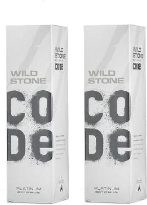 Wild stone Platinum Body Spray  -  For Men, Boys