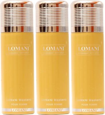 Lomani Weekend Deodorant Spray  -  For Women
