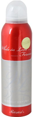 Rasasi While in Love Forever Deodorant Spray  -  For Women