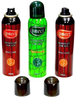 Konect Volcano,Terminator,Volcano Deodorant Spray  -  For Men