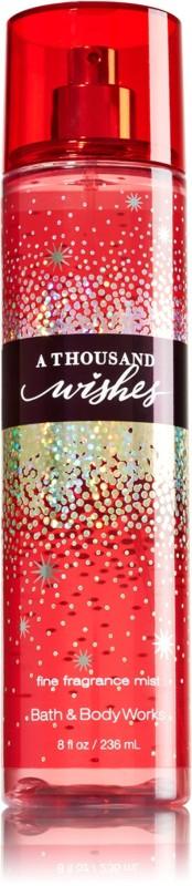 Bath & Body Works A Thousand Wishes Body Mist  -  For Girls, Women(236 ml)