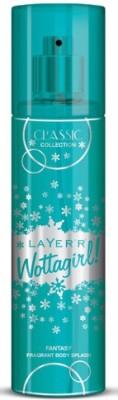 Layer,r Wottagirl Classic Collection Fantasy Fragrant Body Splash Deodorant Spray  -  For Girls, Women