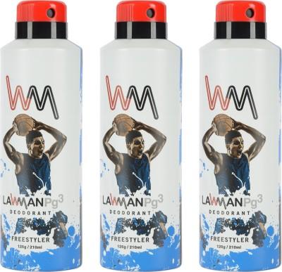LAWMAN PG3 Freestyler,Freestyler,Freestyler Deodorant Spray  -  For Men