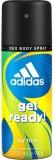 Adidas Get Ready For Him Deodorant Spray...