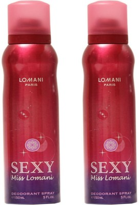 Lomani Sexy Deodorant Spray  -  For Women