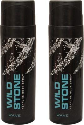 Wild Stone 2 Wave Deodorant Spray  -  For Men
