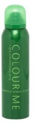 Colour Me Green Deodorant Spray  -