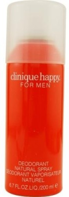 Clinique Happy Deodorant Spray  -  For Men