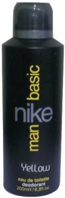 Nike Basic Yellow Deodorant Spray - For Men(200 ml)