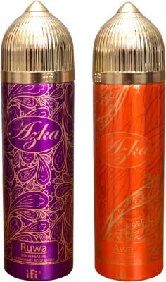 AZKA 1 RUWA::1 AWA Deodorant Spray  -  For Men, Women