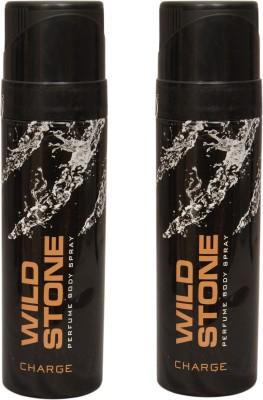 Wild Stone 2 Charge Deodorant Spray  -  For Men