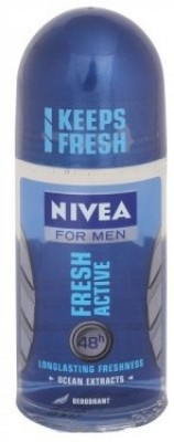 Nivea Fresh Active Deodorant Roll-on  -  For Men