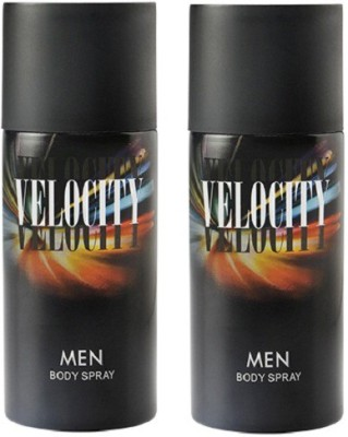 Modicare Velocity pack of 2 Body Spray  -  For Men, Boys