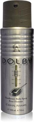 Chris Adams Dolby Body Spray  -  For Boys, Men