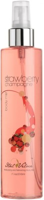 Ital Veloce Strawberry Champagne Body Mist  -  For Women