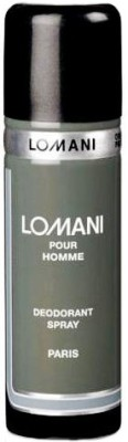 Lomani Pour Homme Deodorant Spray - For Men(200 ml)