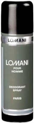 Lomani Pour Homme Deodorant Spray  -  For Men