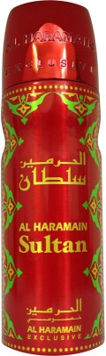 Al Haramain Sultan Deodorant Spray  -