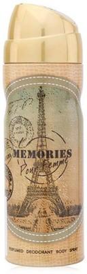 Emper Memories Body Spray  -  For Girls, Women