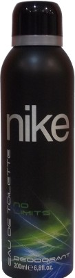 Nike No Limits Deodorant Spray - For Men