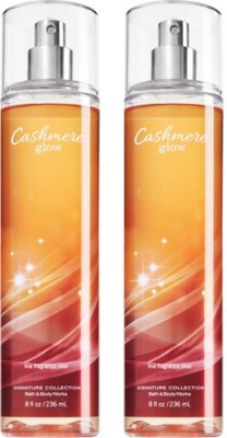 Bath & Body Works Cashmere Glow Combo Set Body Mist  -  For Boys, Men, Girls, Women