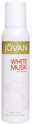 Jovan White Musk Deodorant Spray For Women Deodorant Spray - For Women  (150 ml)