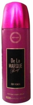 Armaf De La Marque Deodorants Body Spray  -  For Women