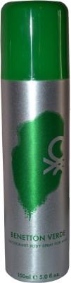 United Colors of Benetton Verde Deodorant Spray  -  For Men