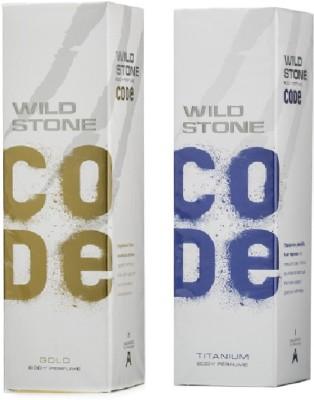 Wild Stone Gold And Titanium Body Spray  -  For Boys, Men