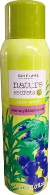 Oriflame Nature Secrets Body Spray Rosemary & Blackcurrant Deodorant Spray  -  For Women