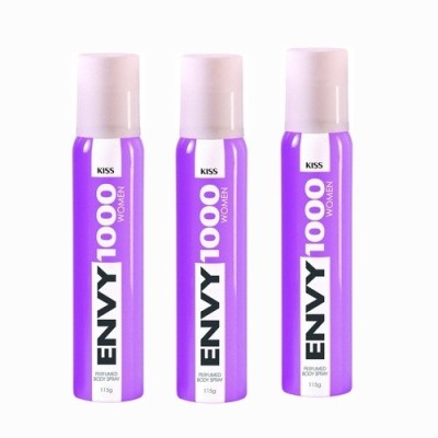 Vanesa Envy Kiss 1000 Body Spray  -  For Women