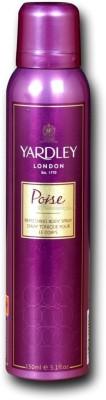 Yardley London Poise Body Spray  -  For Girls, Women