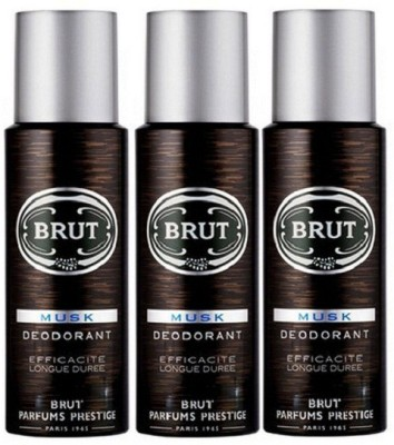 Brut Musk Body Spray  -  For Men