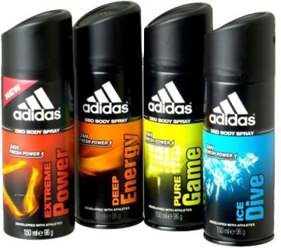 Adidas Deodorants Combo Set