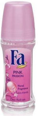 Fa Roll-On Pink Passion Floral Fragrance Deodorants And Antiperspirants Deodorant Roll-on  -  For Men, Women