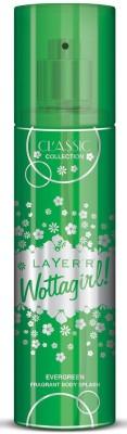 Layer,r Wottagirl Classic Collection Evergreen Fragrant Body Splash Body Spray  -  For Women