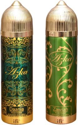 AZKA 1 DAANIA::1 ZAWIAH Deodorant Spray  -  For Men, Women