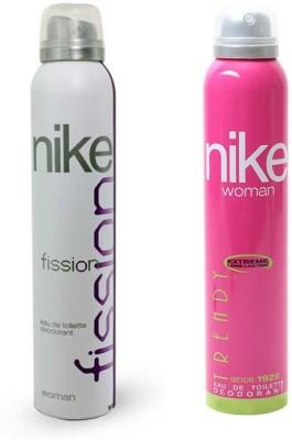 Nike Fission Trendy Body Spray  -  For Women