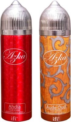 AZKA 1 AHDIA::1 AUDE OUD Deodorant Spray  -  For Men, Women