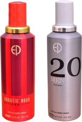 ESTIARA 1 AQUATIC ROSE::1 20 MEN Deodorant Spray  -  For Men